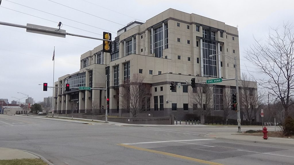 The Robert J Dole Courthouse in Kansas City, MI where a federal court judge declined to dismiss the charges against Dr. Tao.