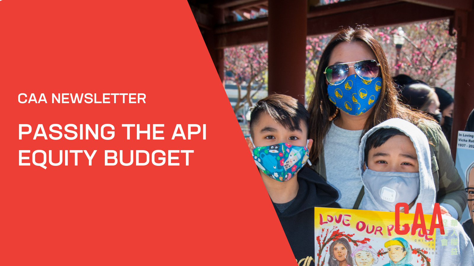 CAA Newsletter: Passing the API Equity Budget