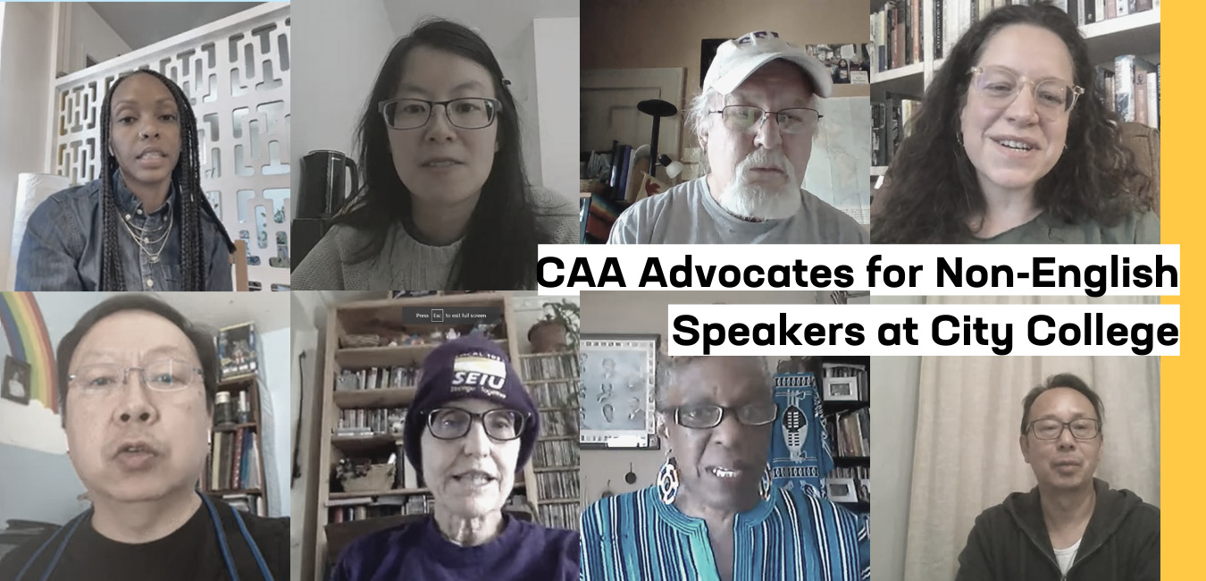 CAA Advocates for Non-English speakers at City College