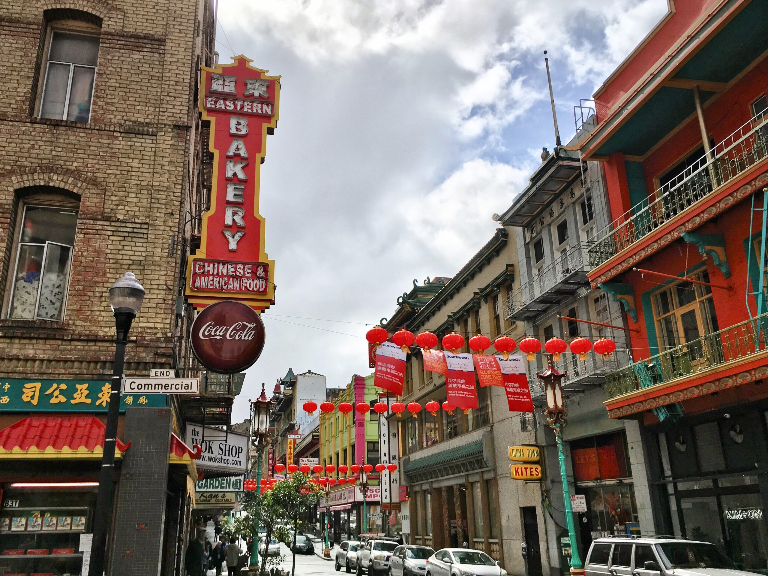 Image of Eastern Bakery in San Francisco Chinatown, which will benefit from the investments made by state and municipal governments in 2021